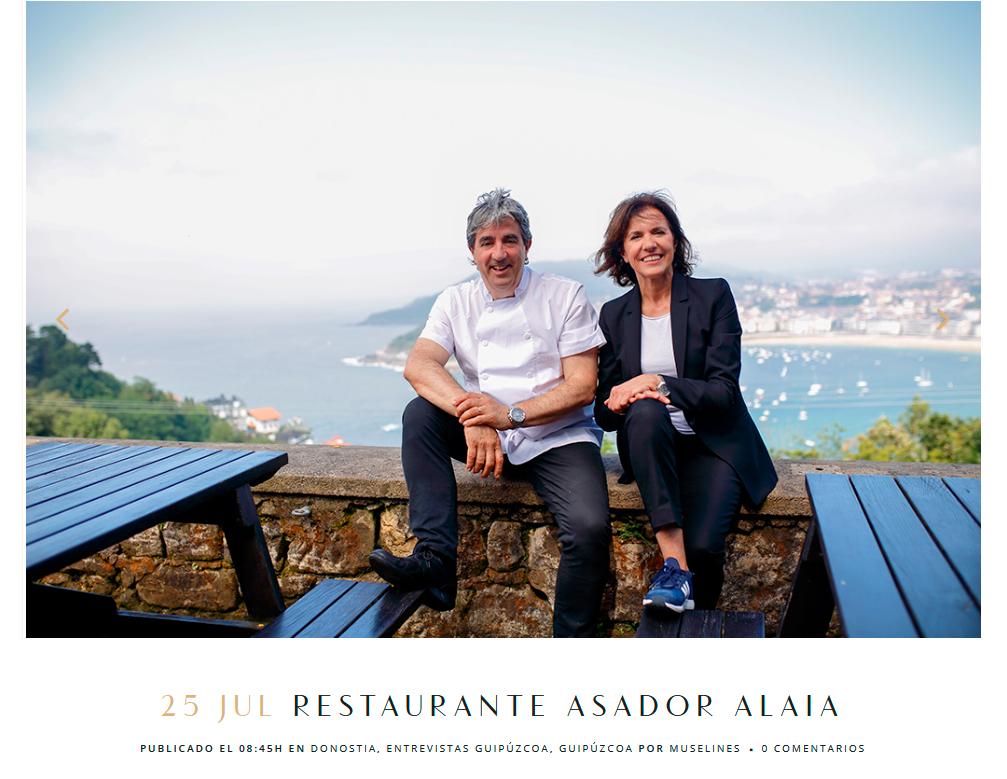 Restaurante en San Sebastián - Asador Alaia